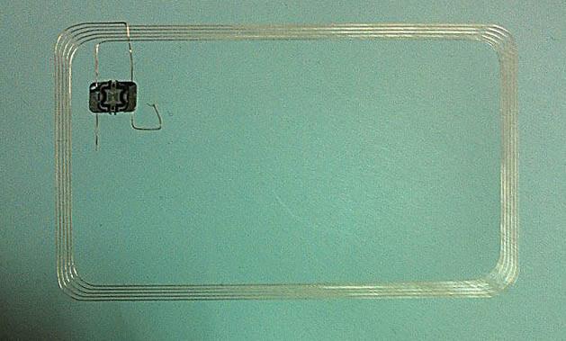 Der Aufbau von RFID-Plastikkarten