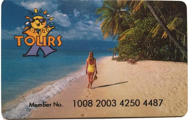 plastik karte - tourist buro