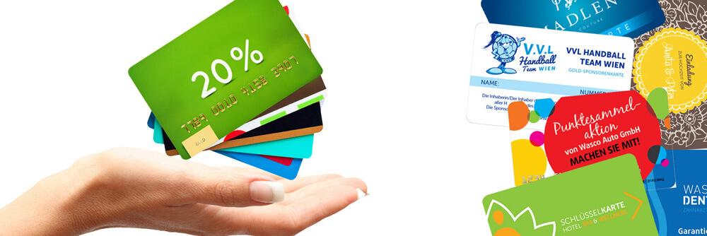 Plastikkarten Druck Angebot!